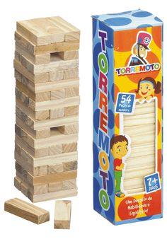 Terremoto - bloquinhos de madeira