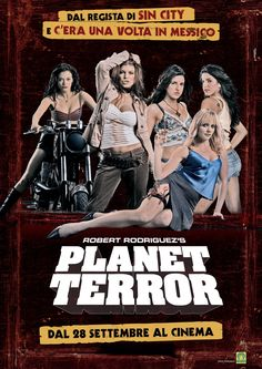 PLANET TERROR grindhouse