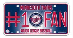 Minnesota Twins License Plate - #1 Fan
