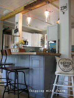 kitchen makover countertops farmhouse sink, home improvement, kitchen cabinets, kitchen design, repurposing upcycling