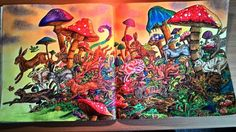 Kerby Rosanes Imagimorphia | Colouring pages ideas | Pinterest