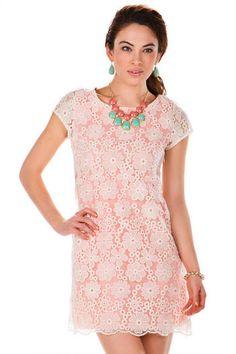 Louisville Floral Shift Dress // Francescas