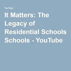 The Indian residential school system in Canada, and why it matter today as Canadians and Sikhs. Produced by World Sikh Organization of Canada, working with t. Residential Schools Canada, Indian Residential Schools, Canadian History, School Lessons, Social Justice, Museum, Study, Youtube, Ideas