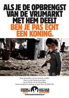 Inhaker voor Koningsdag, Nacht van de Vluchteling/Stichting Vluchteling