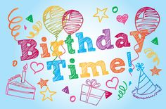 """Birthday Time - @ www.pixingo.com easy """"go-to"""" cards online, but get sent to their home."""