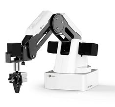 DOBOT Magician Educational Programming Robot, Robot Arm with Printer, Pen Holder, Suction Cap, Gripper Heads for or STEAM Education - Basic Version Industrial Robotic Arm, Industrial Robots, Bras Robot, Stem Teacher, Educational Robots, Steam Education, Robot Kits, Computer Vision, Robot Arm