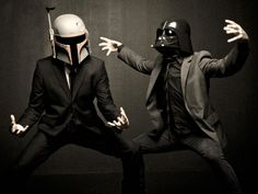 Gangstah Boba and Vader