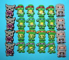 24 TMNT Inspired Party Favours Piñata Fillers Loot Bags Birthday Ninja Turtles