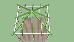 The pergola kits are the easiest and quickest way to build a garden pergola. There are lots of do it yourself pergola kits available to you so that anyone could easily put them together to construct a new structure at their backyard. Gazebo Roof, Hot Tub Gazebo, Pergola Canopy, Pergola With Roof, Wooden Pergola, Patio Roof, Pergola Patio, Pergola Plans, Pergola Kits