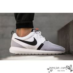 a1b1fda7a39f Nike Roshe Run Mesh White Black Golden Shoes Mens Womens roshebop.com GREAT  SITE FOR ON SALE NIKES