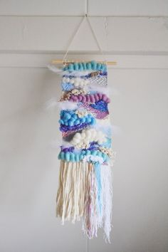 Cinderella Woven Wall Hanging || 'Midnight'