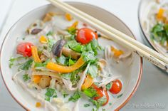 Thai Coconut Turkey Soup - (replace soy sauce with coconut aminos)