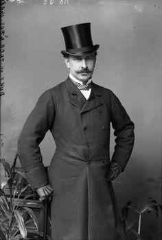 gentleman with top hat