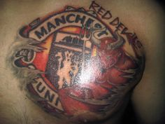 Manchester United Red Devils Tattoo