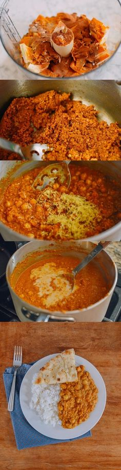 #Ad This Cashew Chickpea Curry is for all your Indian food cravings. Made with cashew milk instead of the usual heavy cream, the dish is packed with flavor and completely vegan. Oh yeah, it's also really easy to make. Thanks to @smartmade0201 and @AOL_Lifestyle for partnering with us on this post. Check out the recipe and repin for a chance to see a similar meal in your freezer aisle! SmartMade Inspired By You