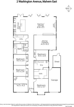 2 Washington Avenue, Malvern East, Vic 3145 - floorplan