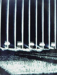 Albert Speer - the famous Cathedral of Light