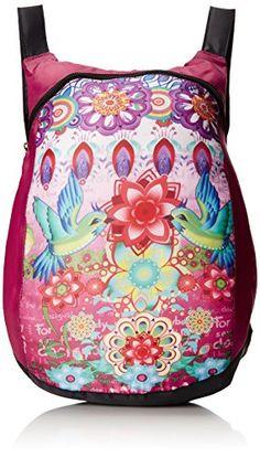 Desigual Bag Backpack Paulina Desigual http://www.amazon.co.uk/dp/B00TZC0AK4/ref=cm_sw_r_pi_dp_WoE3vb1Y5XH65