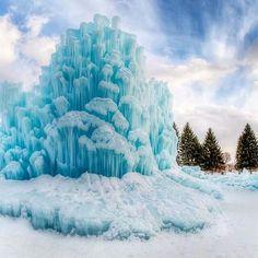 Ice castle in Utah by Alan Fullmer