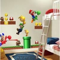 STICKERS Sticker mural super mario bros