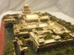 黄金に輝く 聚楽第城