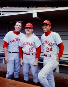 Unidentified player with Pete Rose and Tony Perez, 1967 Cincinnati Reds Baseball, Nfl Dallas Cowboys, Indianapolis Colts, Pittsburgh Steelers, Pete Rose, Cincinnati Restaurants, Sparky Anderson, Tony Perez, Mlb