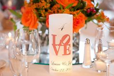 Custom candle holders for table numbers. Vellum wrapped around a battery-operated candle. Decks And Porches, Country Club Wedding, Wedding Photography Inspiration, Wedding Inspiration, Love Design, Table Numbers, Wedding Decorations, Wedding Ideas, Party Supplies