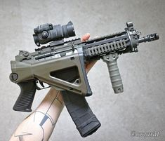 Airsoft Guns, Weapons Guns, Guns And Ammo, Protection Rapprochée, Arsenal, Ar Rifle, Survival Weapons, Survival Kit, Ar Pistol