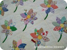 Vintage Daisy Quilt - item sold but I love the pattern
