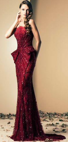 A Red Hot gown that will turn heads & make jaws drop when you enter the room in this sultry & alluring number