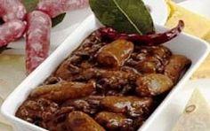 Salsiccia e fagioli neri alla messicana
