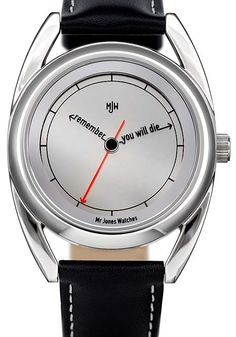 Mr. Jones The Accurate Watch. Designed by UK artist Crispin Jones.