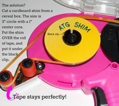 CardMonkey's Paper Jungle: Tip of the Day: Stop that Dreaded ATG Tape Slip