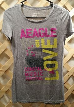 Gray T-Shirt - American Eagle Outfitters