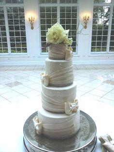 Wedding Cake By Eat Moore Cakes.com 937 s Hamilton lockport IL