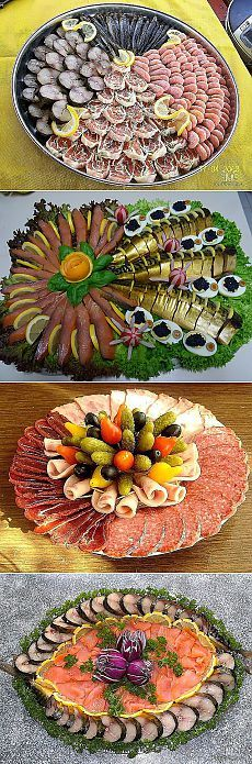 // Party Trays, Party Buffet, Party Snacks, Meat Trays, Food Platters, Party Finger Foods, Food Decoration, Appetisers, Creative Food