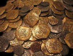 Find a gold coin from an old sunken ship-  Just one,  I'm not greedy.  ;)
