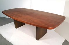Oil Rubbed Bronze and Walnut Dining Table by Dunbar 2
