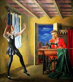 Primeros Pasos by Antonio Berni at El Museo de Bellas Artes in Buenos Aires, Argentina Latina, Kunsthistorisches Museum, Social Realism, Rene Magritte, Art Database, Museum Of Fine Arts, Art Google, Pop Art, 1