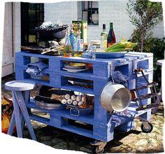 Carrito Reciclar decorar é vintage ilha cozinha carrinho para o seu jardim
