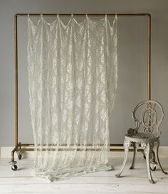 Going to paint some inexpensive clothes racks and hand fabric on them to create a room divider in my basement!