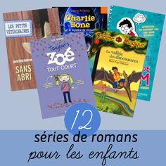12 séries de romans pour jeunes lecteurs Snack Recipes, Snacks, Romans, Pop Tarts, Support, Reading, Books, Diy, Magic Treehouse