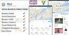 WYZI v1.1.0 - Social Business Finder WordPress Directory Theme