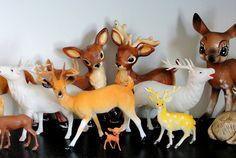 Vintage Deer Collection by l.duranceau, via Flickr