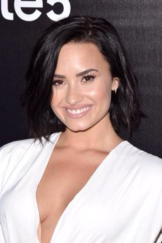 Demi Lovato attends the Samsung launch party on August 2015 in West Hollywood, California Demi Lovato Albums, Demi Lovato Pictures, Jordin Sparks, Celebrity Beauty, I Love Girls, Role Models, Pretty Woman, Girl Photos, Beauty Women
