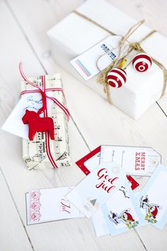 Jak zapakować prezent, fot. Pinterest.com/ hildashem.se