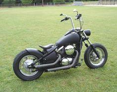'99 Kawasaki Vulcan Bobber - inspiration I'm a Harley girl myself, but looks good ;)