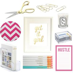 Home Office Inspiration! {sweatandthesweetlife.com}