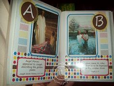 Printable ABC Gospel Quiet Book (LDS) Cute idea- I would want to change out some pictures, and the colors.