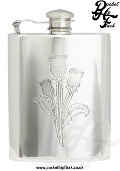 English Pewter Scottish hip Flask at The Pocket Hip Flask Company: